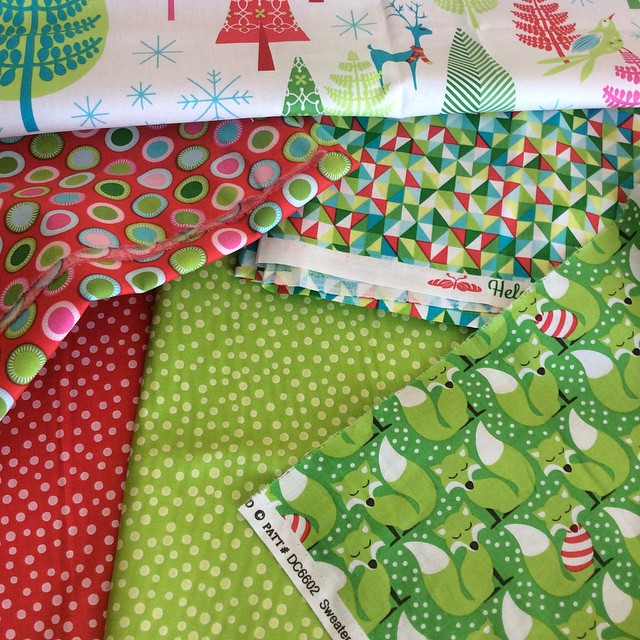 Excited to design some fun with #festiveforestfabric new from @tamarakatedesign…