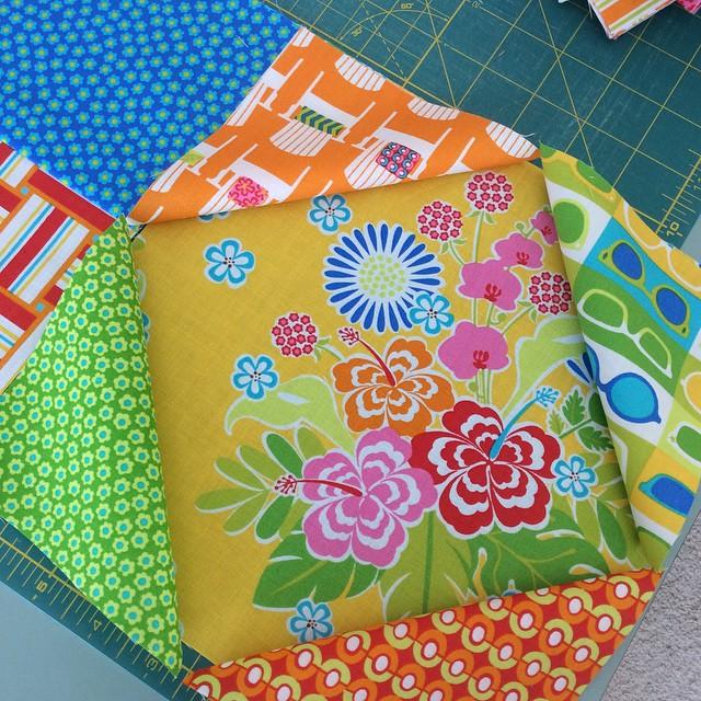 Playing with another #sanibelfabric idea #showmethemoda @ginamartindesign love this fabric…
