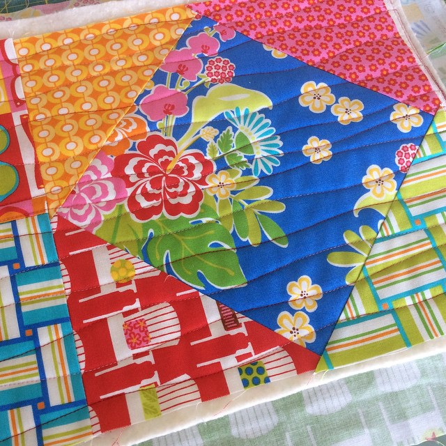 Because long days deserve a bit of sunshine #sanibelfabric @ginamartindesign…